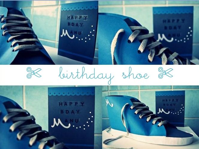 Schuh aus Papier basteln Anleitung, Vans als Vorlage #schuh #papier #basteln #geschenkverpackung #geldgeschenk
