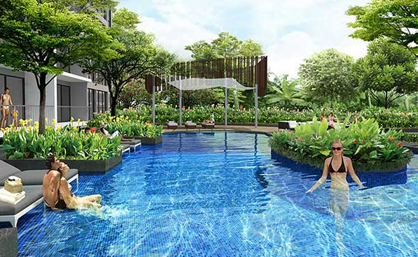 Northpark Residences @ Yishun Pool Plan