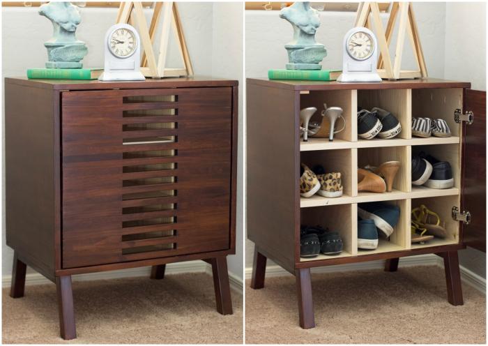 How To Build A Modern Dresser Bookshelf Combo