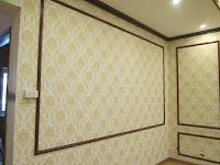 Lưu ý khi lựa chọn giấy dán tường cho phòng khách