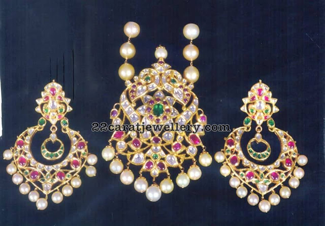 Pachi Pendant with chandbalis