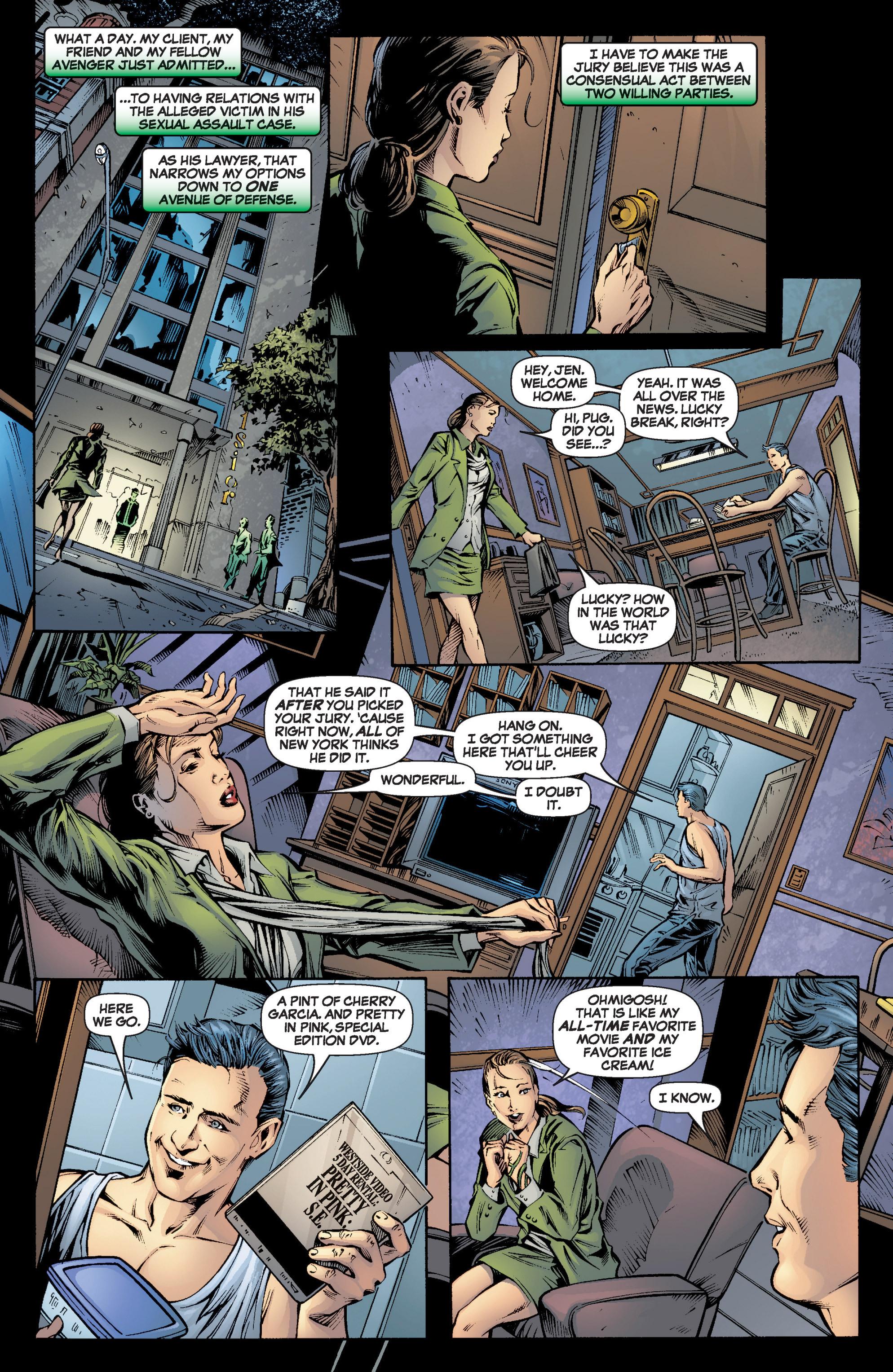 Read online She-Hulk (2005) comic -  Issue #6 - 8