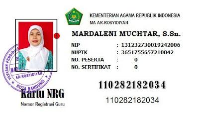 Aplikasi Cetak Kartu NRG Gratis