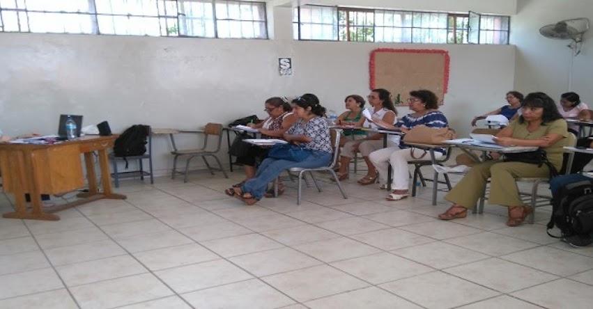 UGEL Piura capacita a docentes de primaria para la enseñanza de inglés