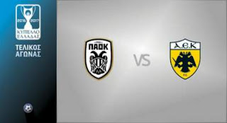 PAOK-AEK LIVE STREAMING