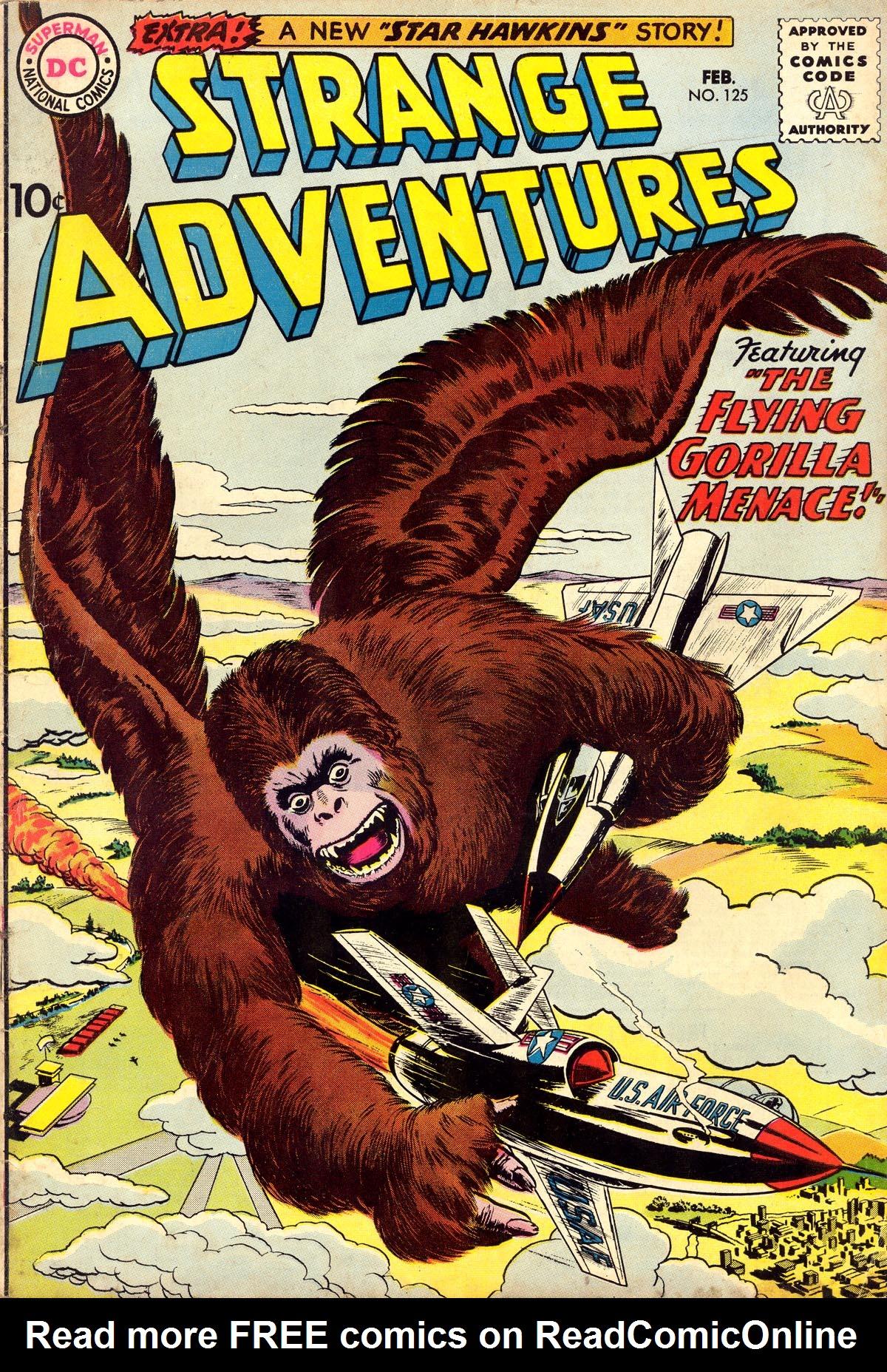 Strange Adventures (1950) issue 125 - Page 1