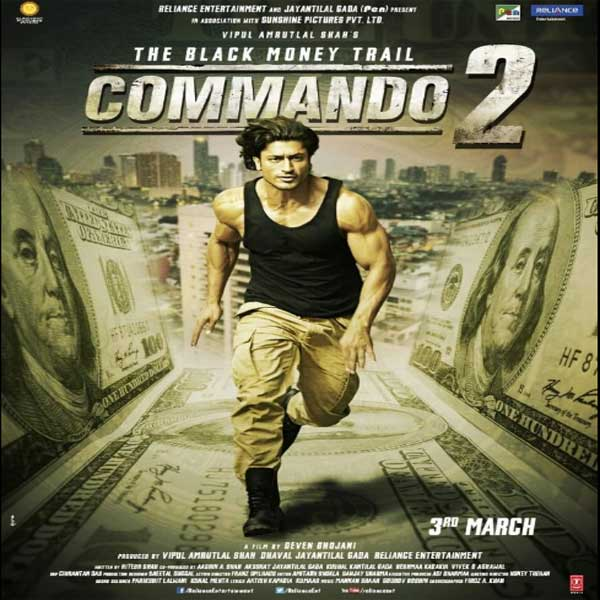 Commando 2: The Black Money Trail, Commando 2: The Black Money Trail Synopsis, Commando 2: The Black Money Trail Trailer, Commando 2: The Black Money Trail review