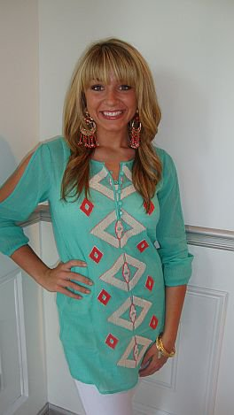 40e14438544543 A lot of Turquoise Love at the Blue Door Boutique
