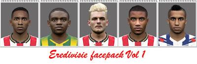 Eredivisie Facepack