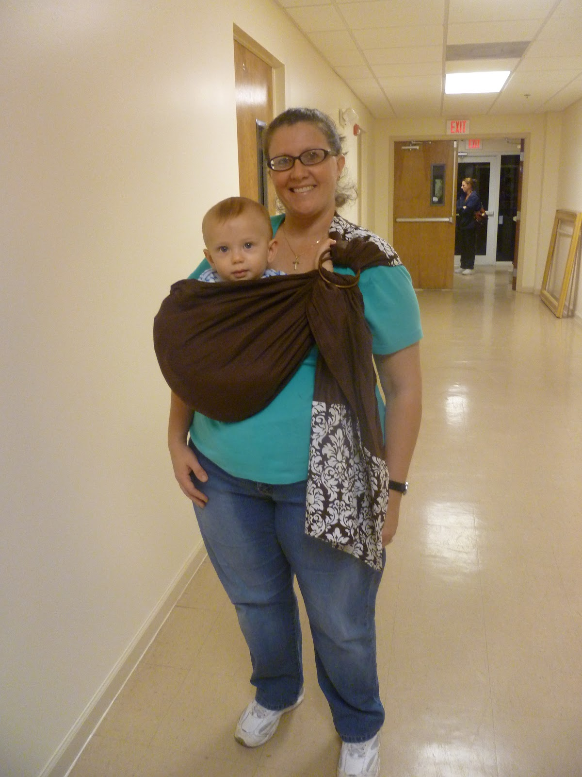 03d5ff69080 SNUGGY BABY RING SLING REVIEW +  75.00 GIFT CERTIFICATE GIVEWAY ...