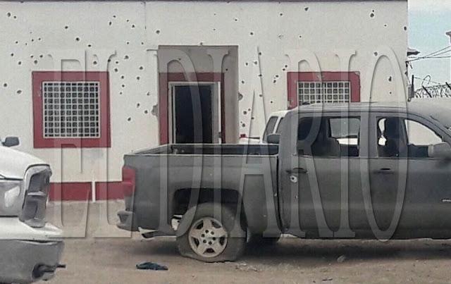 ASI QUEDO LA COMANDANCIA DE LA FISCALIA EN CHIHUAHUA TRAS ATAQUE DE SICARIOS EN 5 CAMIONETAS