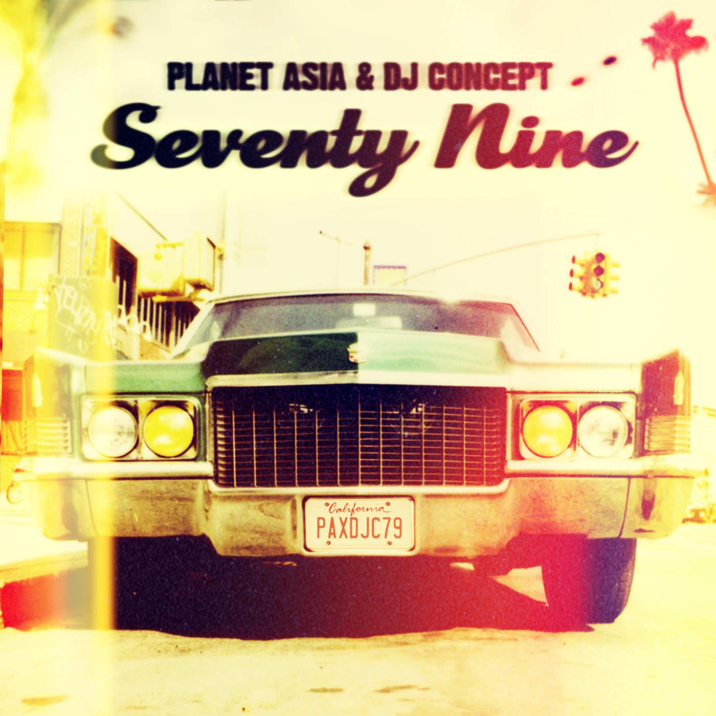 Planet Asia & DJ Concept - Seventy Nine Cover