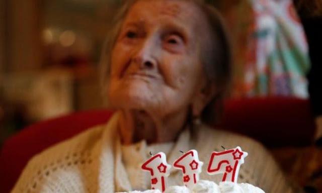 γηραιότερη γυναίκα στον πλανήτη