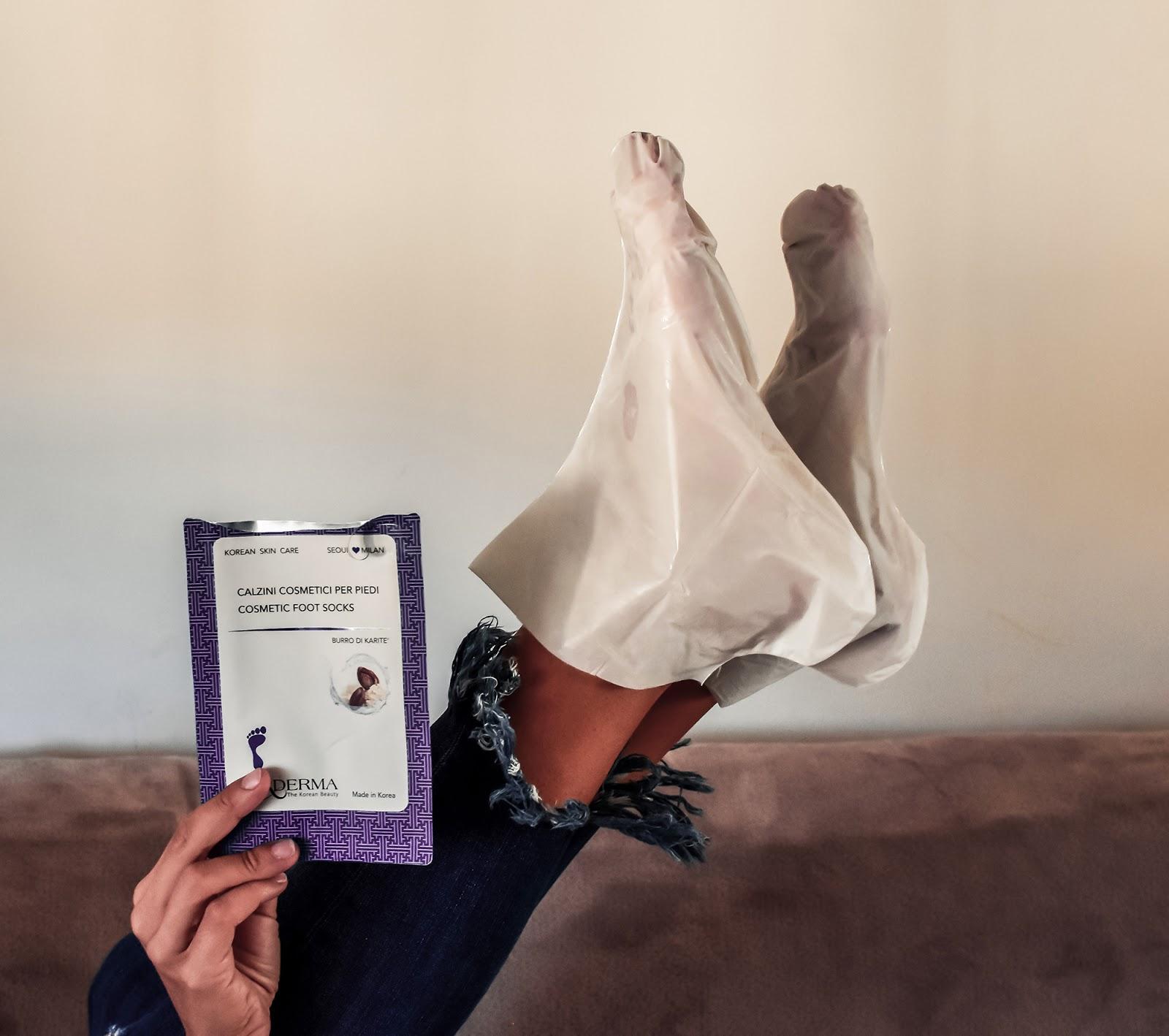 maschera piedi