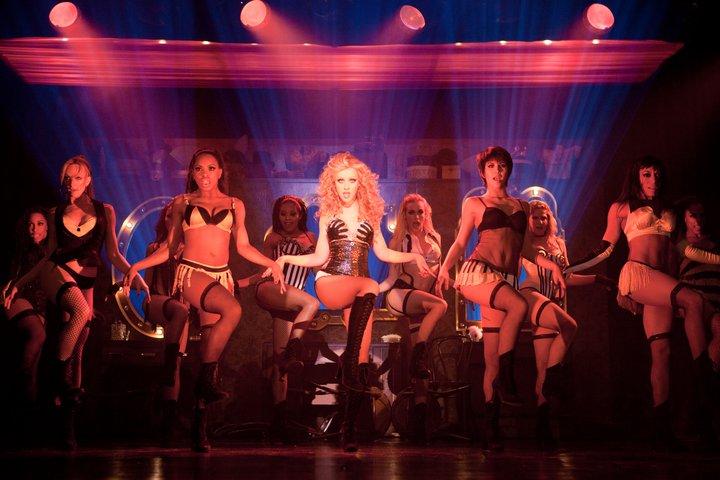 Burlesque, 2010. Cher y Christina Aguilera