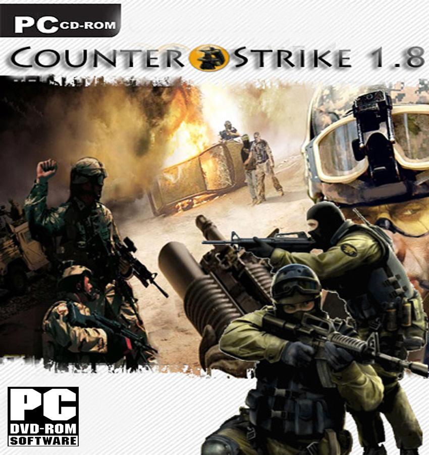 شرح تحميل لعبة counter strike 1.8