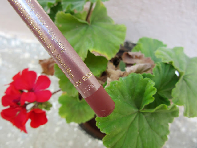 Lakme 9 to 5 Lip Liner 'Brick Rose' Review, Swatch, FOTD