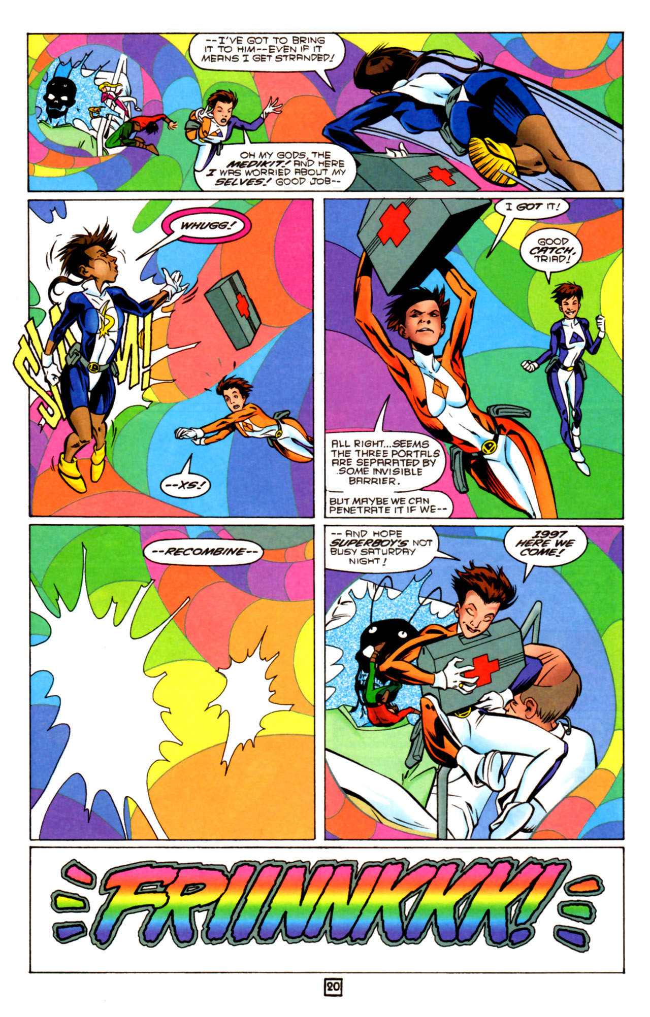 Legion of Super-Heroes (1989) 91 Page 19