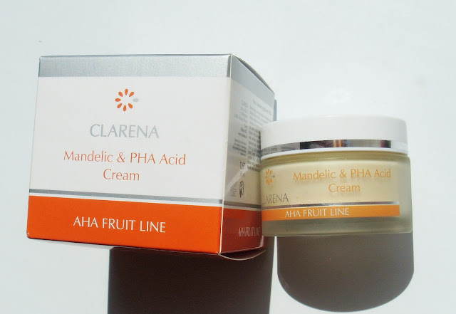 Clarena Mandelic and PHA Acid Cream AHA Fruit Line