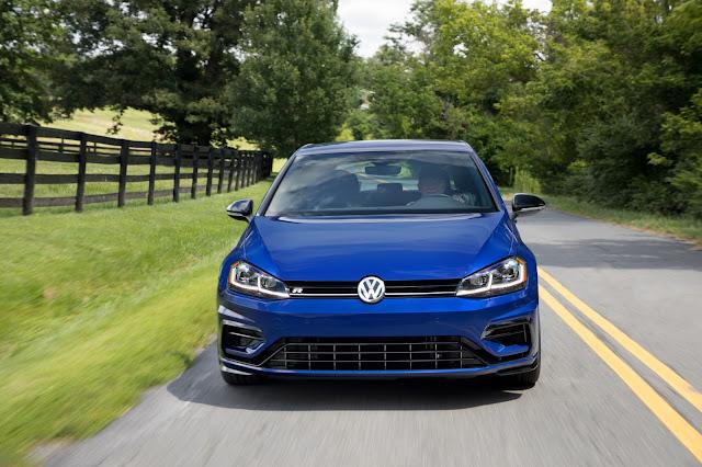 Front view of 2018 Volkswagen Golf R