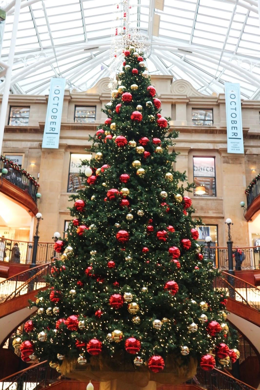 princes square glasgow christmas tree