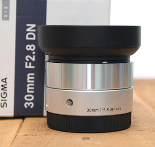 Jual Lensa Sigma 30mm f2.8 DN-ART e Mount Bekas