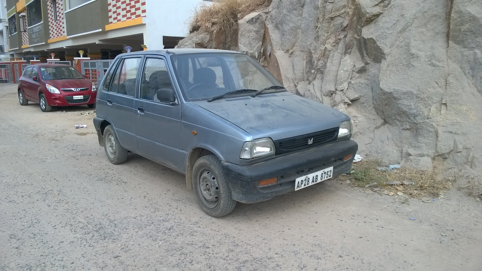 I bought an old maruti 800 about 6 months ago to handle local commutes after moving in to our new flat we realized it was important to have a 4 wheeler