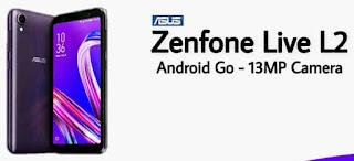 2 Cara Flash Asus Zenfone Live L2 Terbaru