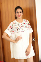 Lavanya Tripathi in Summer Style Spicy Short White Dress at her Interview  Exclusive 203.JPG
