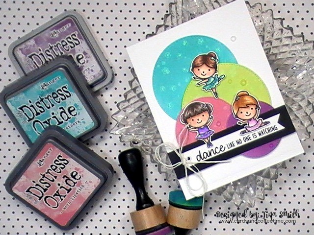 Sunny Studio Stamps: Tiny Dancers Customer Card Share by Tina Smith