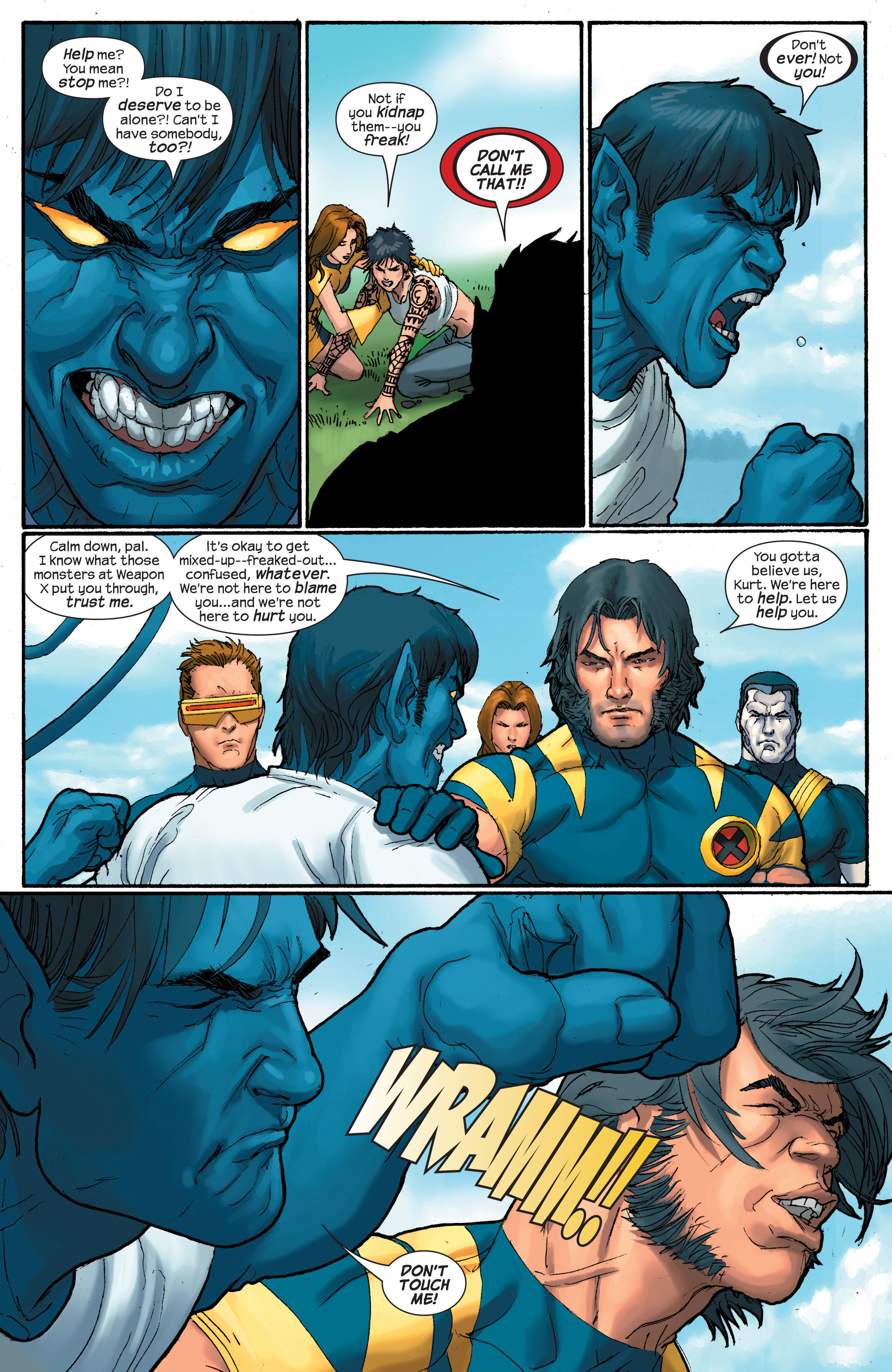 Read online Ultimate X-Men comic -  Issue # _Annual 2 - 24