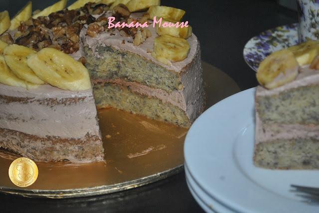 Patyskitchen Banana Mousse Cake
