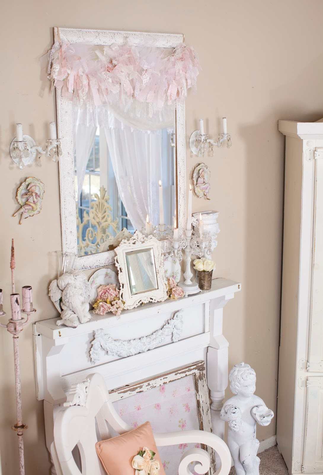 Shabby Chic Lounge Furniture: Olivia's Romantic Home: My Shabby Chic Living Room