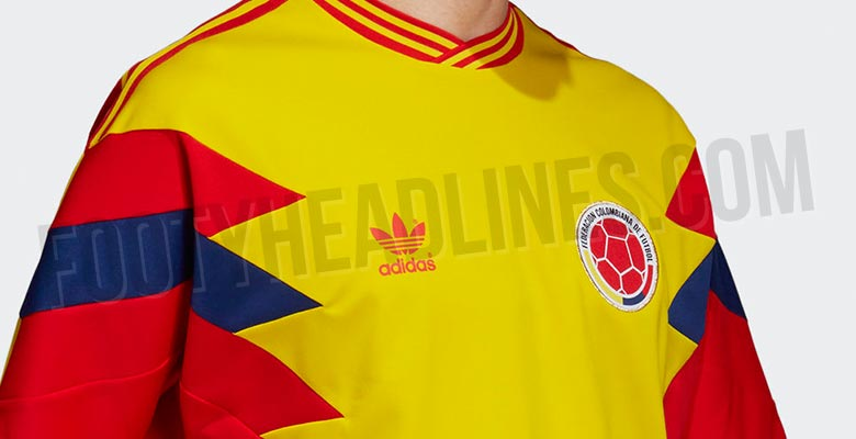336ac285f Update  Adidas Colombia 2018 World Cup Mash-Up Jersey Leaked ...