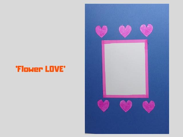 COVER: Flower Love, pop up card by Minaz Jantz