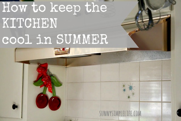vintage kitchen, cherries, kitchen, frugal