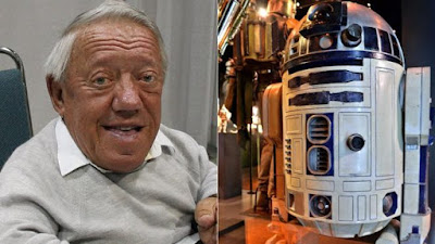 British actor Kenny Baker,Star Wars R2-D2 actor, dies aged 81