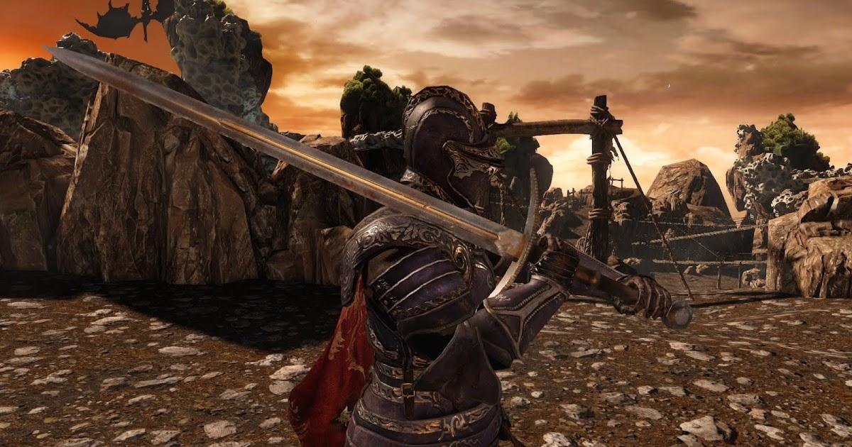 Dark Souls  Sotfs Spear Build