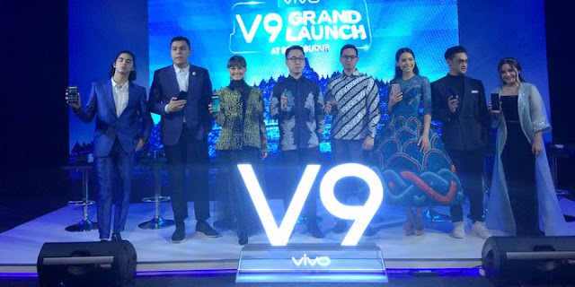 launching smartphone Vivo V9