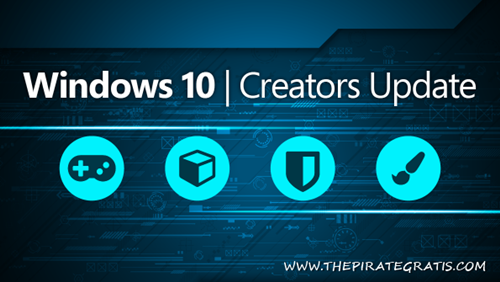 Download Windows 10 Pro Creators Update 32/64 Bits
