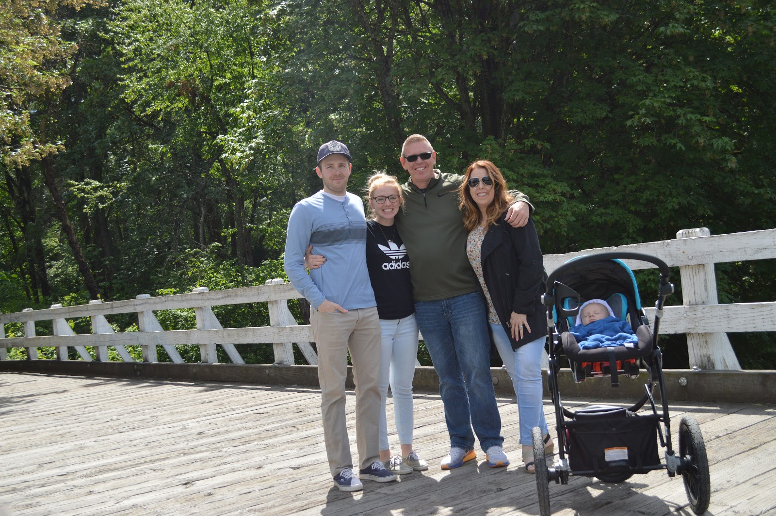 Family picture at Titlow Beach