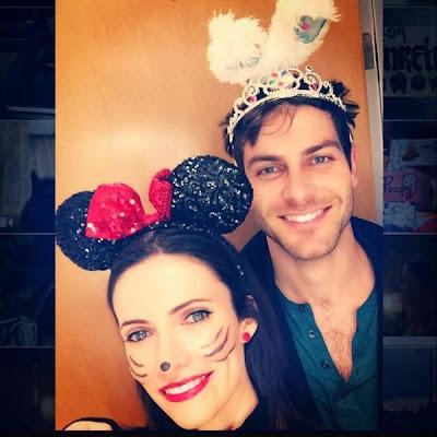 Bitsie Tulloch Minnie Mouse Halloween 2014