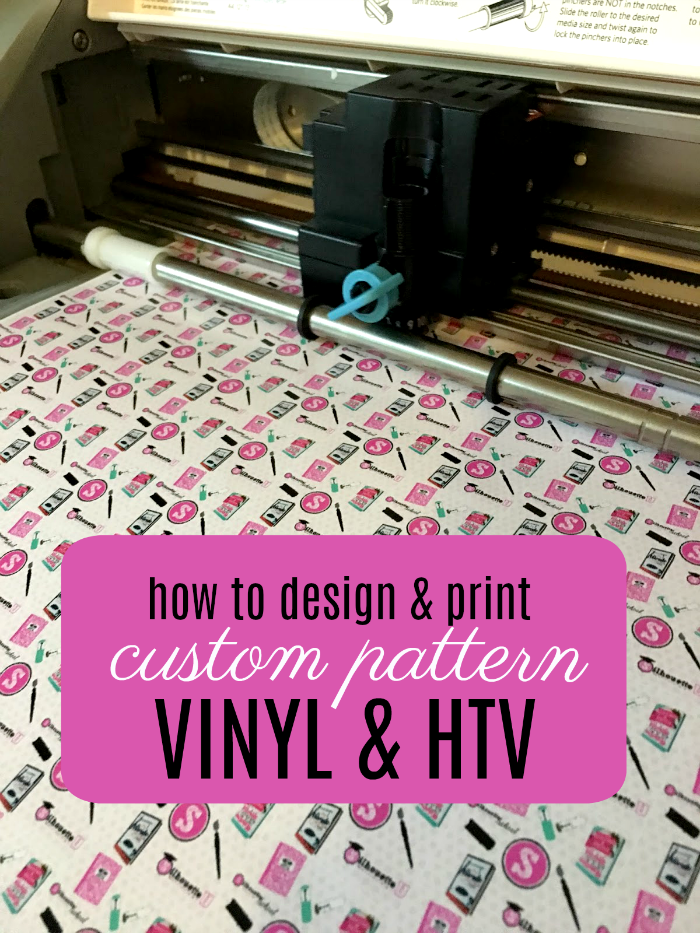 Custom printed pattern vinyl and htv