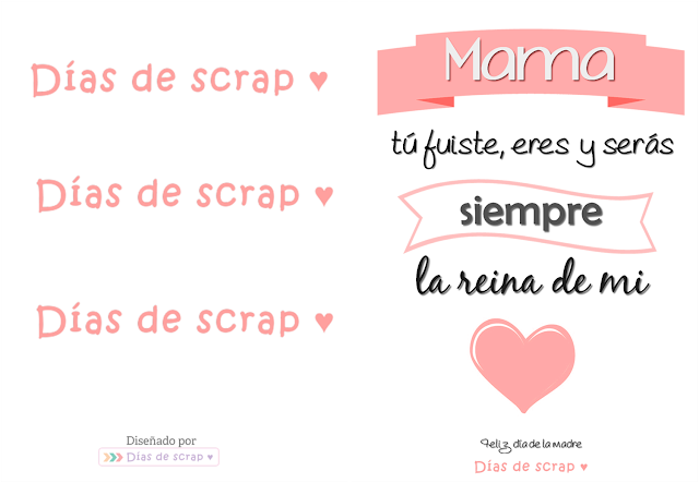 Postal descargable para el Día de la madre