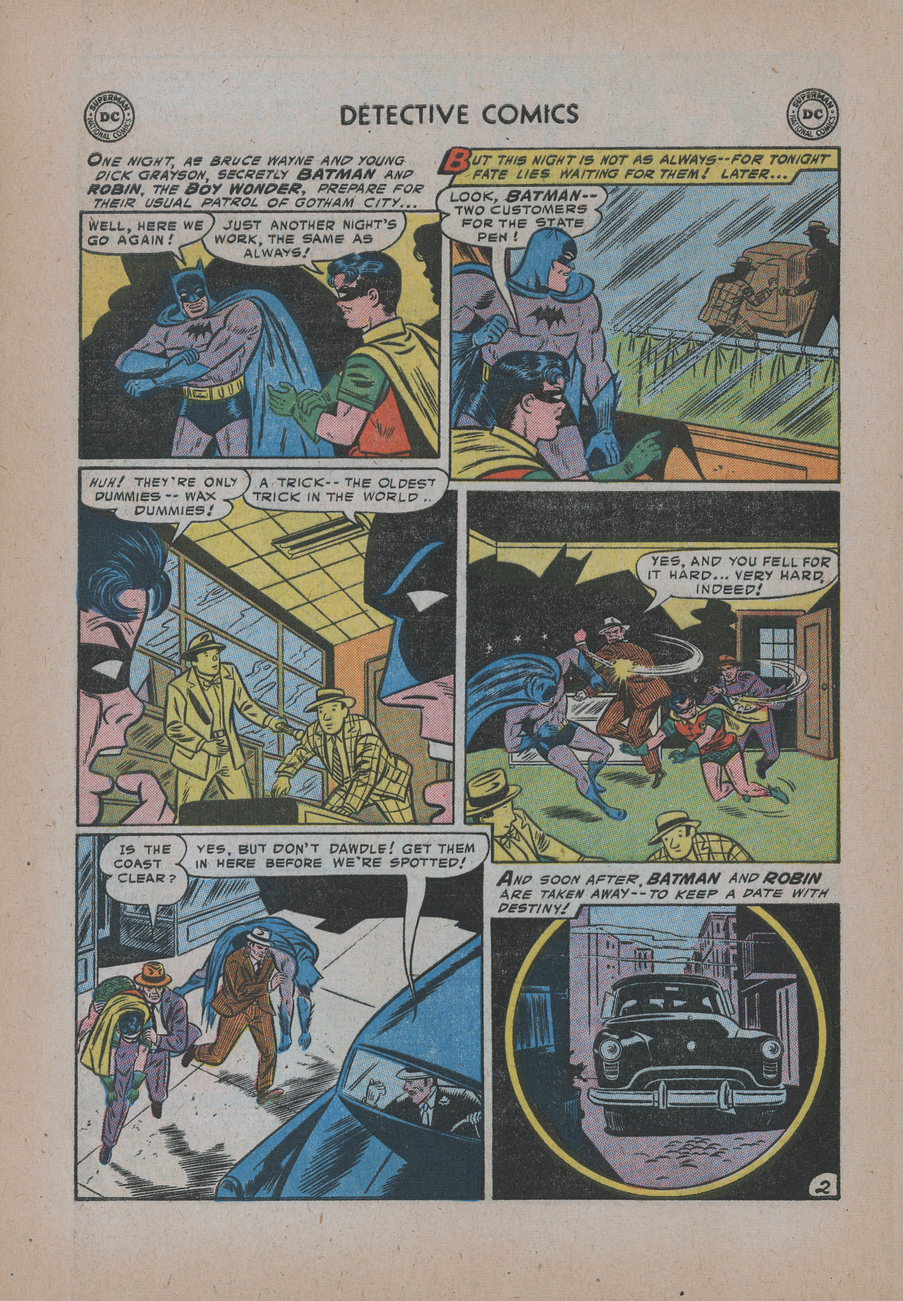Read online Detective Comics (1937) comic -  Issue #221 - 4