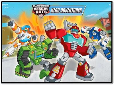 transformers rescue bots hero apk
