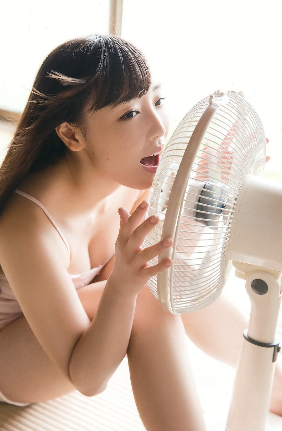 Fukumura Mizuki 譜久村聖 Morning Musume, Young Gangan Magazine No.10 2016 Special PhotoBook Chapter One