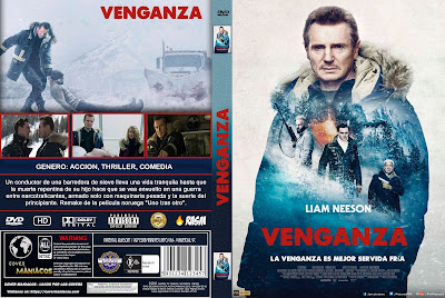 CARATULA VENGANZA - COLD PURSUIT - 2019 [COVER DVD]