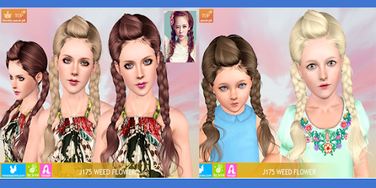 Free Newsea Weed Flower Hair (Requested)         ~          UTS3