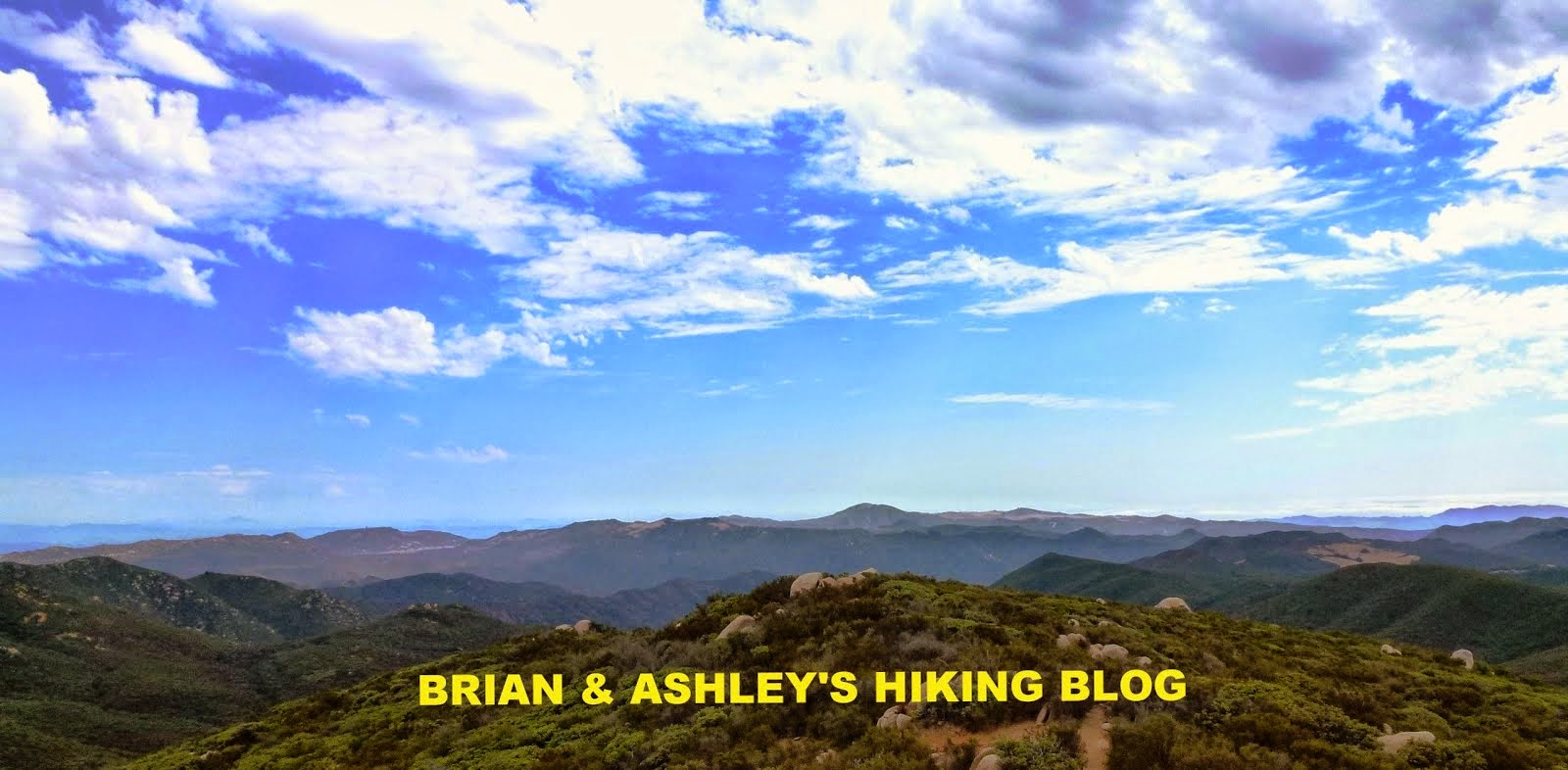 Brian and Ashley's Hiking Blog!